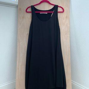 Rachel Roy Black Racerback Dress Size L